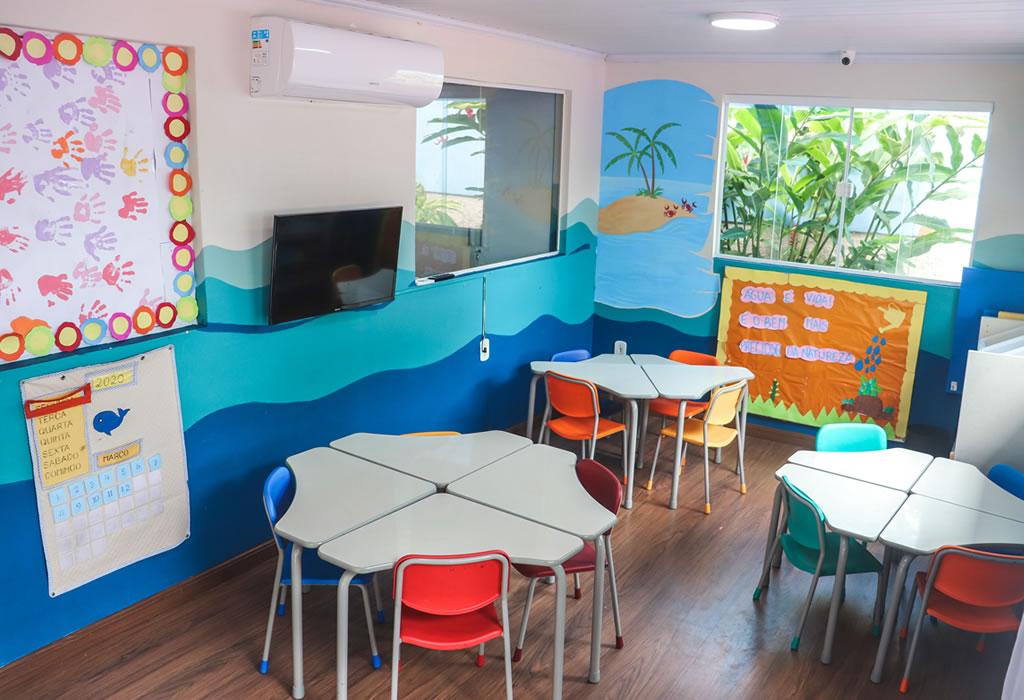 Sala de aula Pré 2