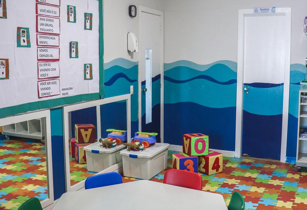 Sala de aula Berçário 2