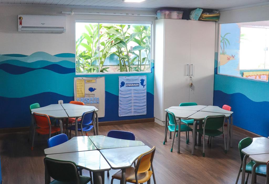 Sala de aula Pré 1